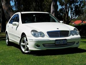 2006 Mercedes-Benz C-Class W203 MY2006 C230 Elegance White 7 Speed Automatic Sedan Myaree Melville Area Preview