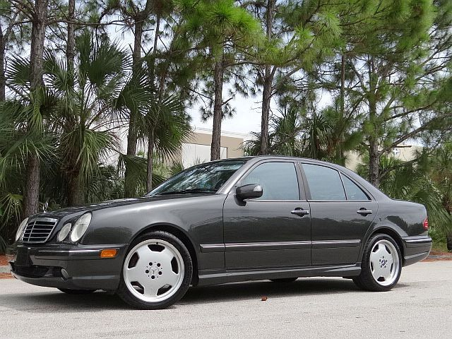 2002 mercedes e55 amg no reserve rare colors w210 hard to find super clean used mercedes. Black Bedroom Furniture Sets. Home Design Ideas