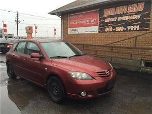 2006 Mazda Mazda3 GS**5 MANUAL**ONLY136KM**HATCHBACK**SNOW TIRES
