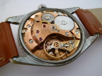 JUNGHANS Chronometer Kal.82/1 Manufaktur m. Feinregulierung Germany 50is
