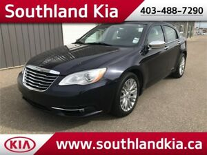 2012 Chrysler 200 Limited **LEATHER-SUNOOF**
