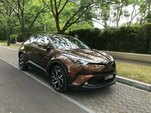 2017 Toyota C-HR NGX10R Koba S-CVT 2WD Bronze 7 Speed Constant Variable Wagon Hawthorn Mitcham Area Preview