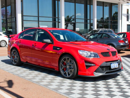 2017 Holden Special Vehicles GTS GEN-F2 MY17 R Red 6 Speed Sports Automatic Sedan