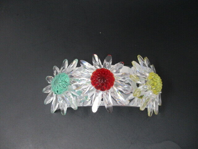 Swarovski Crystal Marguerite Daisy's with Stand