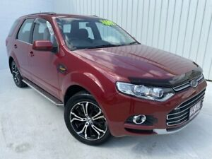 2012 Ford Territory SZ TS Seq Sport Shift Red 6 Speed Sports Automatic Wagon Mundingburra Townsville City Preview