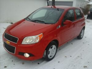 2011 Chevrolet Aveo 5 LT, only 68,719 kms, CLEAN CARPROOF