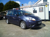 2010 CITROEN GRAND C4 PICASSO-VTR+ HDI-FREE 6 MONTHS RAC WARRANTY AND 12 MONTH BREAKDOWN COVER