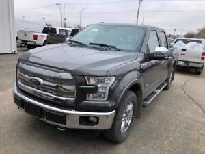 2016 Ford F-150 Lariat Moonroof, heated steering wheel, 502a tri