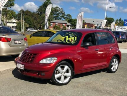 2005 Chrysler PT Cruiser PG MY2006 GT Red 4 Speed Automatic Wagon Greenslopes Brisbane South West Preview