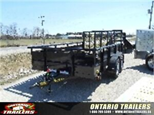 BIG TEX 70TV 7'X12' VANGUARD TANDEM AXLE