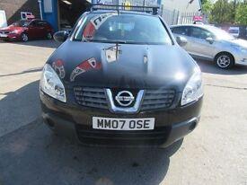 Nissan Qashqai VISIA 5d 113 BHP partexchange welcome ! (black) 2007