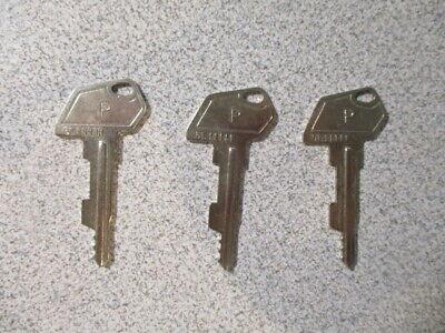 Lot Of 3 Samsung Cash Register P Keys