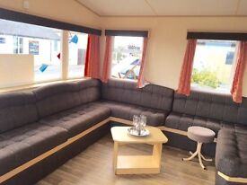 Static caravan, 6 berth, seafront location (Romney Sands), dog friendly, RHD railway, nature reserve