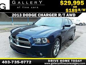 2013 Dodge Charger R/T AWD $189 bi-weekly APPLY NOW DRIVE NOW