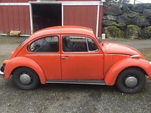 1974 Volkswagen Beetle Coupe (2 door)