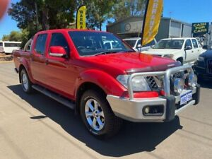 2012 Nissan Navara D40 S6 MY12 ST 25th Anniversary Red 5 Speed Automatic Utility Margaret River Margaret River Area Preview