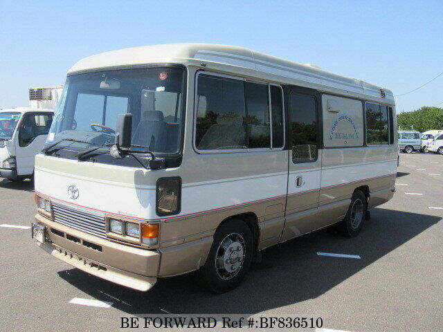 TOYOTA COASTER  RV 1989