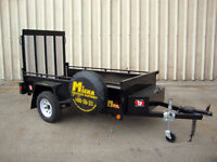 4'x8' Landscape Utility Trailer - Loaded with Contractor Package