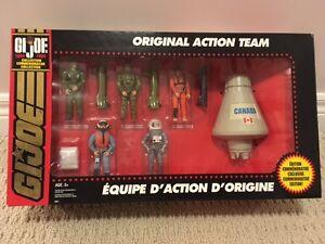 GI Joe 30th Anniversary Original Action Team set *NEW IN BOX*