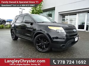 2011 Ford Explorer W/ 4-WHEEL DRIVE, LEATHER UPHOLSTERY & REA...