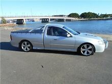 2005 Ford Falcon BF XR8 Ute Super Cab Silver 6 Speed Sports Automatic Utility Hamilton East Newcastle Area Preview