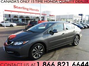 2013 Honda Civic EX 4DR SEDAN | ALL WEATHER MATS | LOW KM'S !!