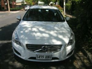 2011 Volvo V60 F MY12 D3 Teknik Ice White 6 Speed Automatic Wagon Prospect Prospect Area Preview