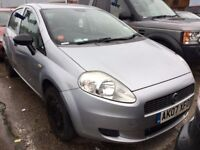 2007 FIAT GRANDE PUNTO 1.2 ACTIVE PETROL MANUAL 5 DOOR HATCHBACK GREAT DRIVE NOT CORSA FIESTA POLO
