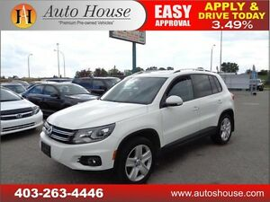2013 VOLKSWAGEN TIGUAN HIGHLINE NAVI BACKUPCAM PANO ROOF