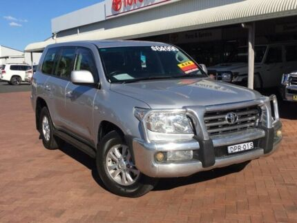 2009 Toyota Landcruiser VDJ200R MY10 Sahara Silver 6 Speed Sports Automatic Wagon