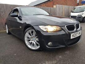 BMW 3 SERIES 3.0 325D M SPORT 2DR AUTOMATIC (black) 2007