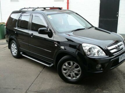 2005 Honda CR-V RD MY2005 Sport 4WD Black Mica 5 Speed Automatic Wagon West Footscray Maribyrnong Area Preview