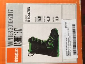 Great condition size 12 snowboard boots.