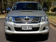 2012 Toyota Hilux KUN26R MY12 SR5 Double Cab Silver 4 Speed Automatic Utility Hillcrest Port Adelaide Area Preview