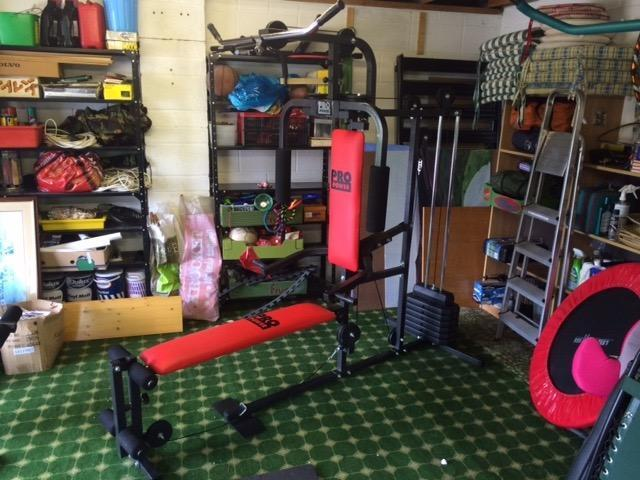 Pro power lay flat home multi gym for sale in bury st