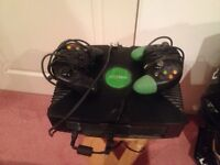 Original X Box with 2 controllers