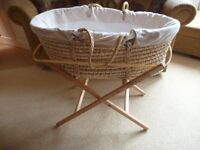 Mothercare Moses Basket & Stand