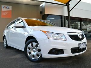 2013 Holden Cruze JH Series II MY13 CD Sportwagon White 6 Speed Sports Automatic Wagon Fawkner Moreland Area Preview
