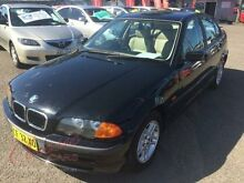 2000 BMW 318I E46 18I Black 4 Speed Auto Steptronic Sedan Lansvale Liverpool Area Preview