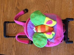 Super cute soft pull along backpack/suitcase for little girl!