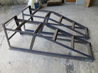 Halfords steel car ramps