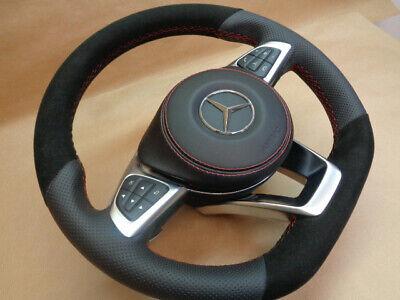 Mercedes AMG Leder Lenkrad CLA W117 CLS W118 A-Klasse W176,GLA W156 B-Klasse W24