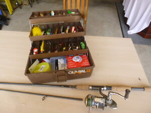 Complete Fishing Kit - Quantum Rod & Reel - Lures & Tackle Box