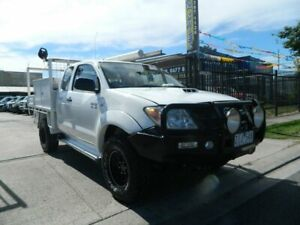 2006 Toyota Hilux KUN26R SR (4x4) White 5 Speed Manual X Cab Cab Chassis Williamstown North Hobsons Bay Area Preview