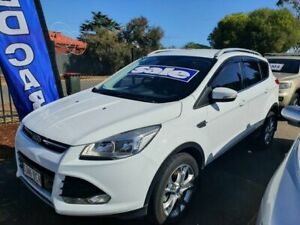 2014 Ford Kuga TF MY15 Trend AWD White 6 Speed Sports Automatic Wagon Morphett Vale Morphett Vale Area Preview