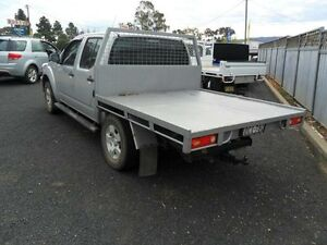 2007 Nissan Navara D40 ST-X Silver Manual Utility Mudgee Mudgee Area Preview