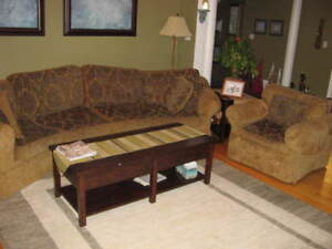 Corner Couch with arm chair