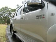 2010 Toyota Hilux KUN26R MY10 SR5 Silver 4 Speed Automatic Utility Dandenong Greater Dandenong Preview