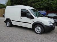 Ford Transit Connect T220 LWB High Roof, New MOT (17th July 2017), Low Miles,Service History, No Vat
