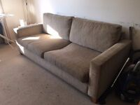 Free Three Person Sofa. Collection Only